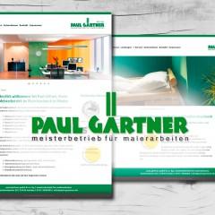 Maler Paul Gärtner | Minden