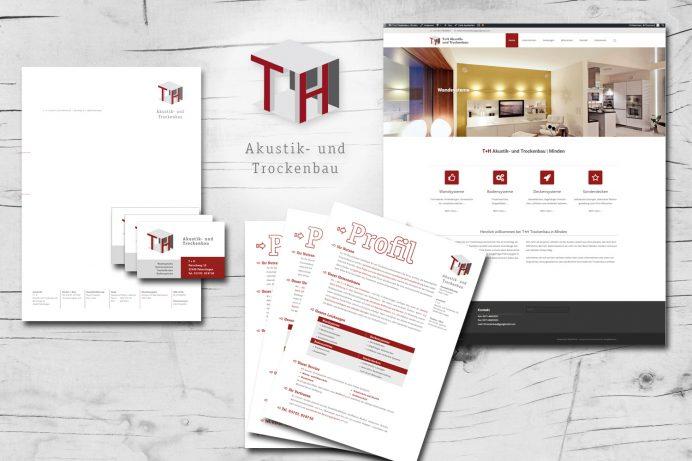 Neue Website für T+H Trockenbau Minden