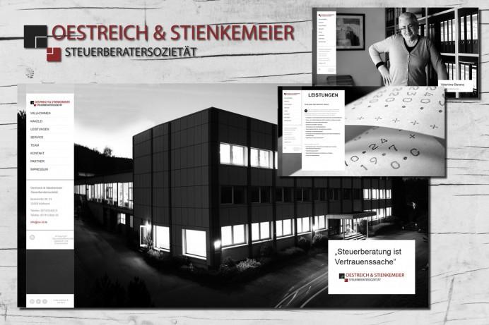 Website-Relaunch für die Steuerberatersozietät Oestreich + Stienkemeier