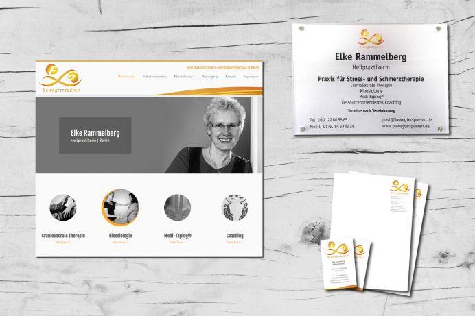 Logo, Website... | Heilpraktikerin Elke Rammelberg, Berlin
