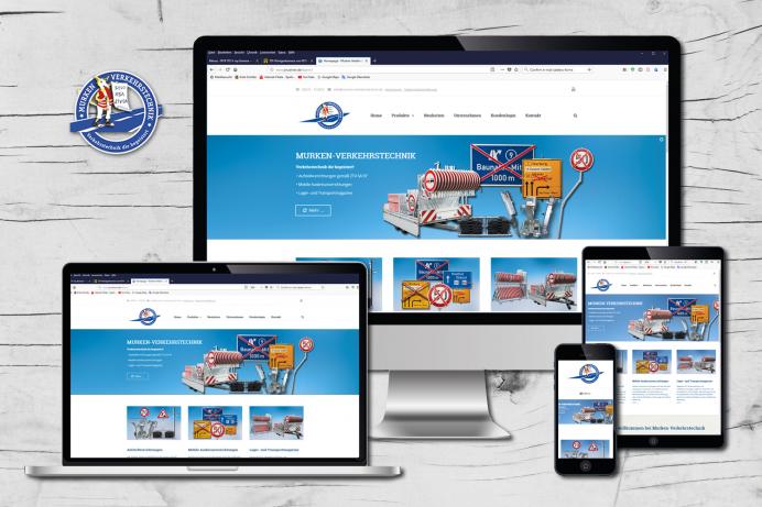 Neue Website für Murken-Verkehrstechnik