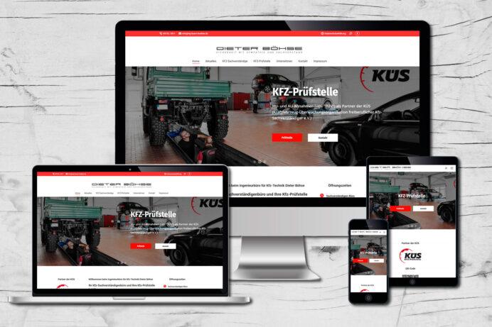 Webdesign Löhne | Ing.- Büro Böhse