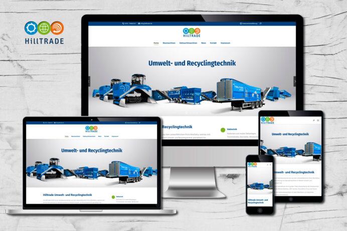 Webdesign Porta Westfalica | Hilltrade GmbH