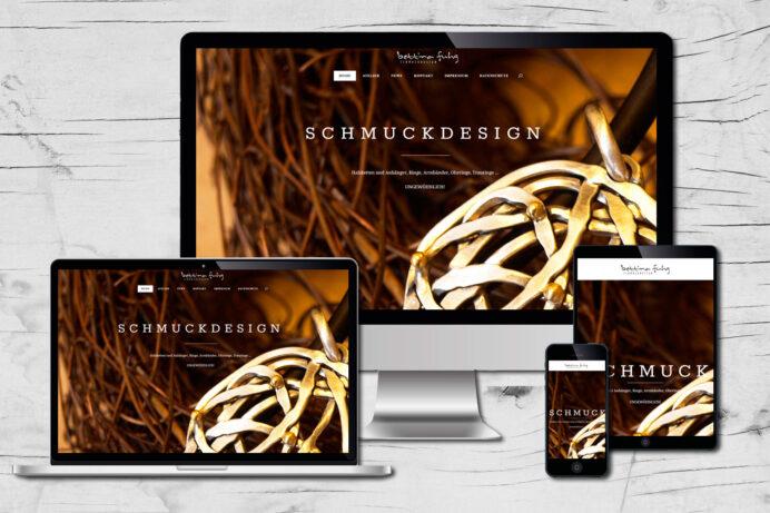 Webdesign Minden | Schmuckdesign Bettina Fugh