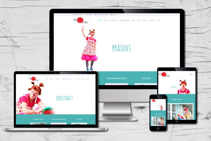 Webdesign Petershagen | Wilmas Theater Welt